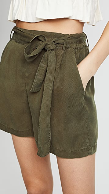 Three Dots Twill Shorts