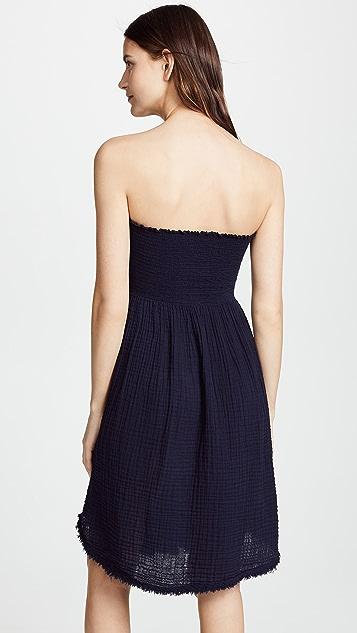 Three Dots Gauze Convertible Dress / Skirt