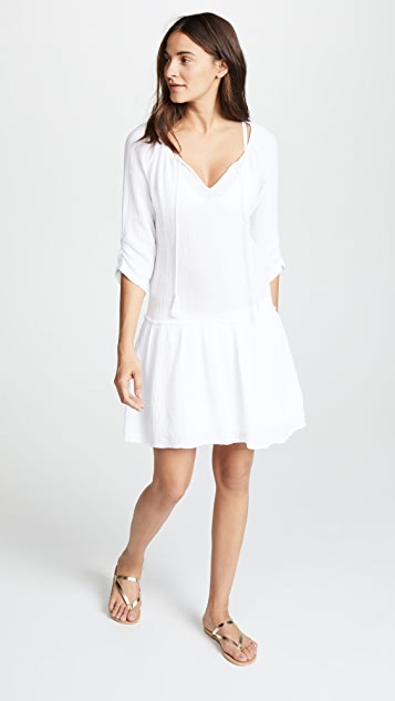 Three Dots Double Gauze Dress