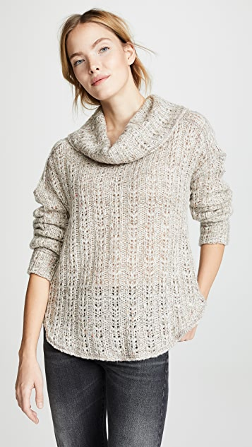 Three Dots Heavy Melange Sweater