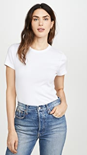 Three Dots Essential Heritage Crew T-Shirt