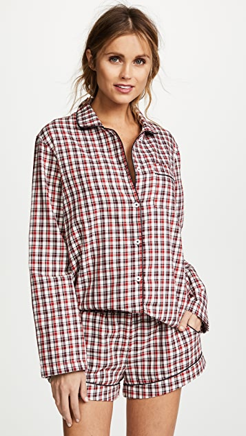 Three J NYC Josephine Long Sleeve PJ Set