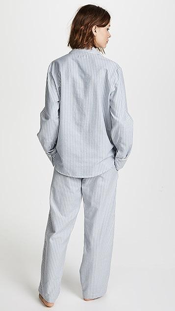 Three J NYC Etoile Long Sleeve PJ Set