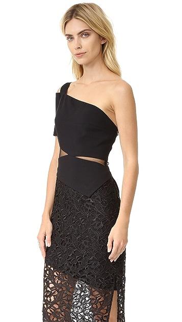 Three Floor Oblique Dress