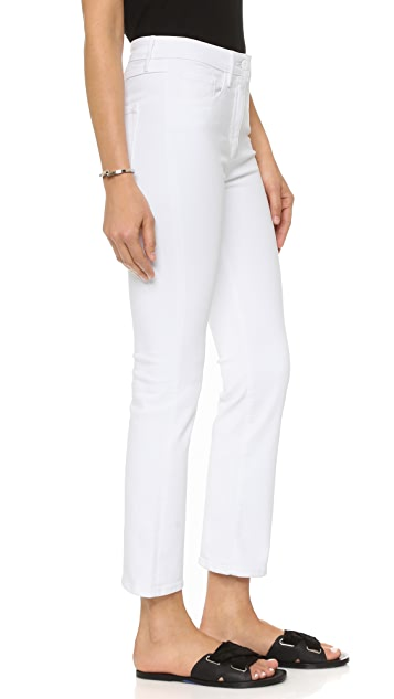 3x1 The Principle High Rise Crop Micro Flare Jeans