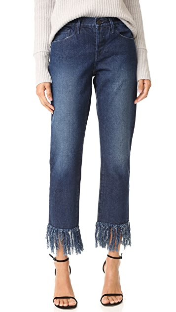 3x1 WM3 Crop Fringe Jeans