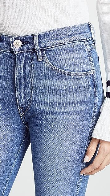 3x1 Прямые укороченные джинсы W3 Authentic