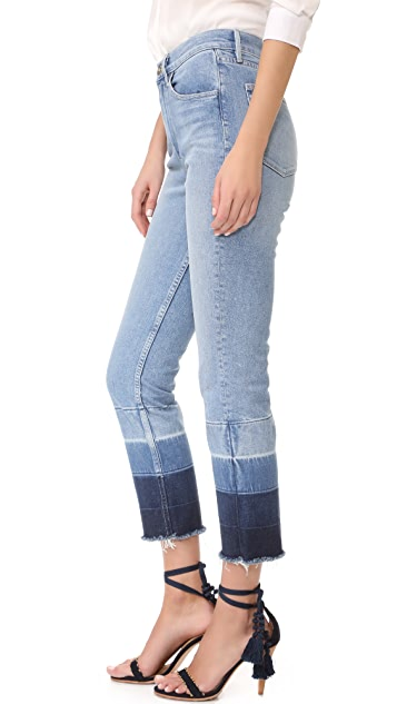 3x1 Shelter Straight Leg Cropped Jeans