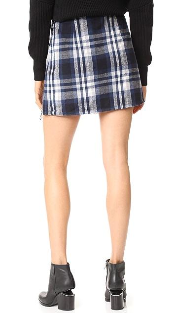 3x1 Ferdie Wrap Miniskirt