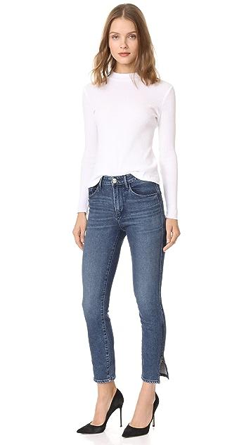3x1 Higher Ground Split Zip Jeans