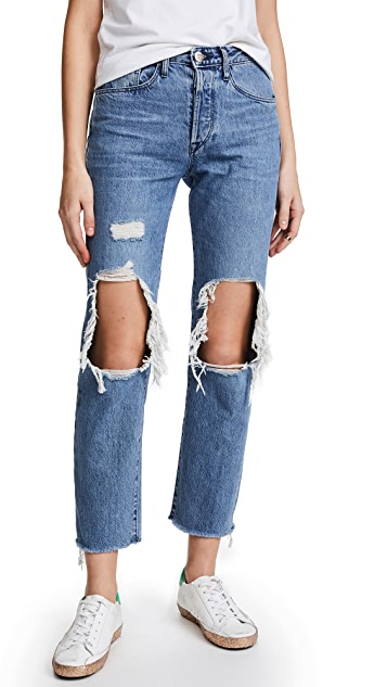 3x1 W3 Higher Ground BF Crop Jeans