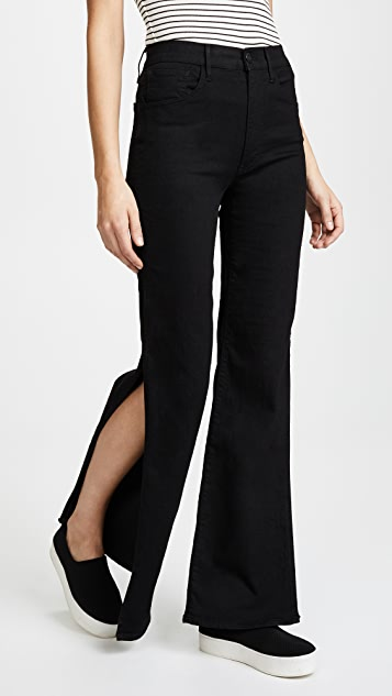 Adeline Split Flare Jeans by 3x1