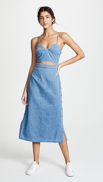 3x1 Peek A Boo Dress