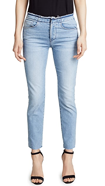 3x1 Raw Edge Shelter Slim Jeans