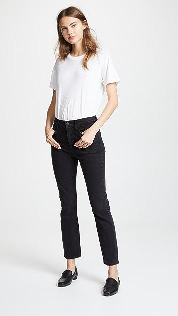 3x1 W4 Colette Slim Crop Cigarette Jeans