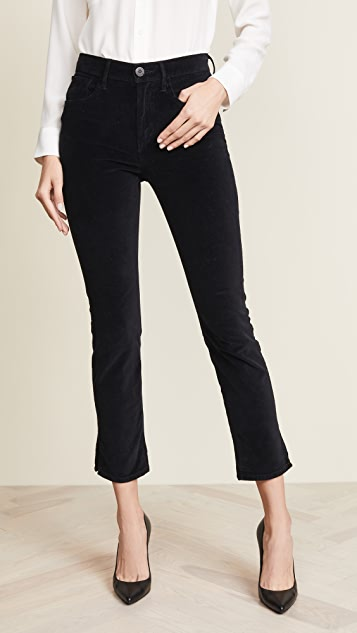 3x1 W3 Velvet Higher Ground Mini Split Jeans