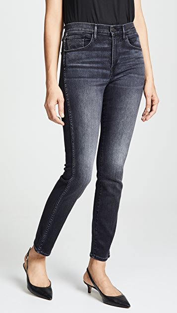 3x1 W3 Straight Authentic Jeans - Raven