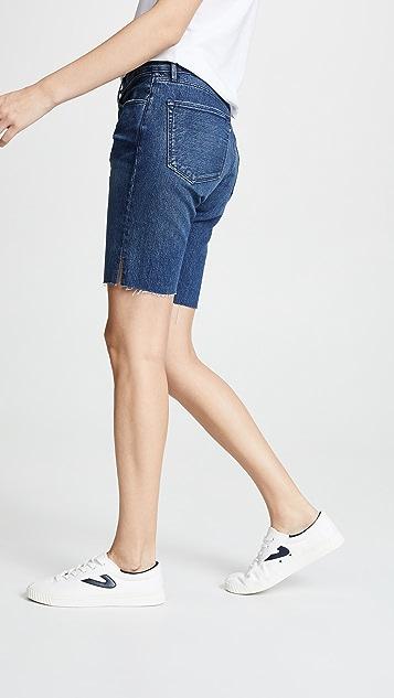 3x1 Selvedge Knee Shorts