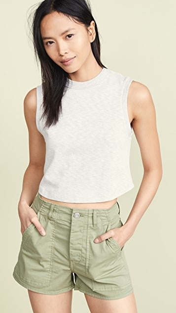 3x1 Укороченная футболка без рукавов