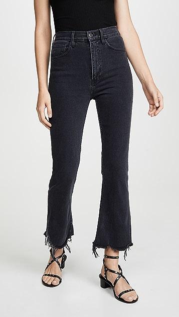 3x1 Укороченные расклешенные джинсы Empire