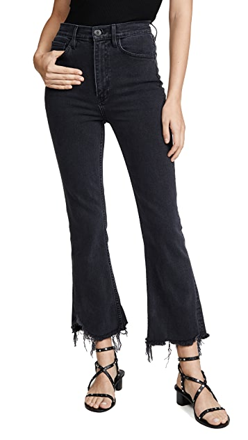 3x1 Empire Crop Flare Jeans