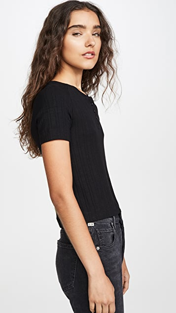 3x1 Slim Knit Henley