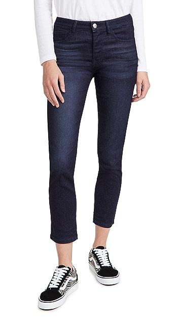 3x1 W2 Straight Crop Jeans