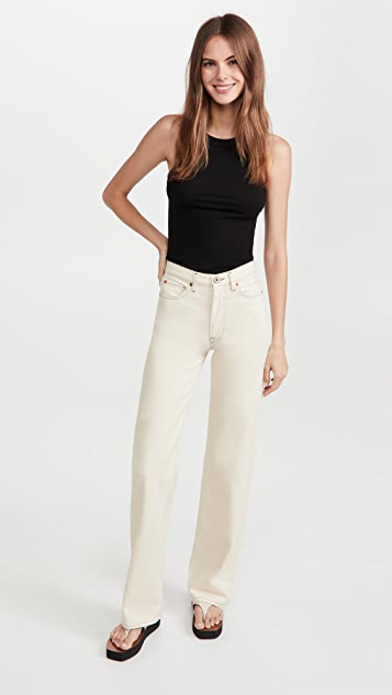 3x1 Kate Trampled Hem Jeans