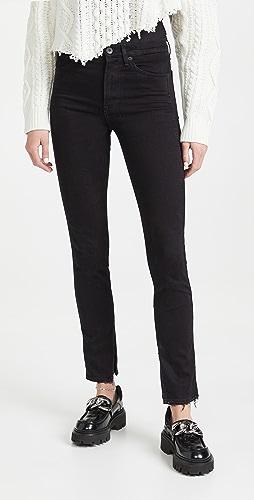 3x1 - Kaya Skinny Split Vintage Hem Jeans