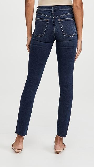 3x1 Straight Authentic Cut Hem Jeans