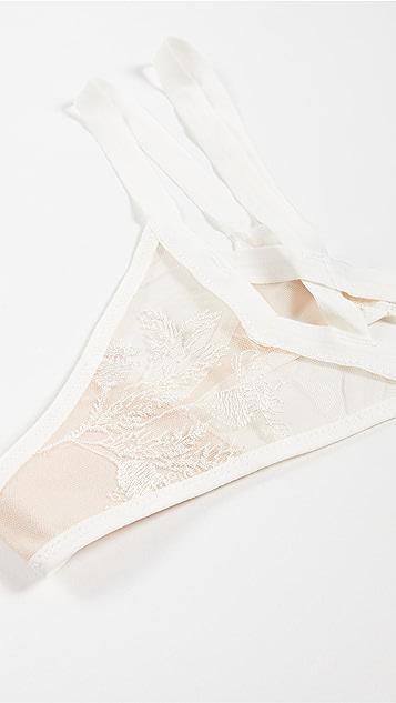 Thistle & Spire Verona 刺绣丁字裤