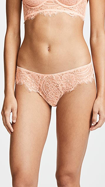 Thistle & Spire Graham Eyelash Lace Bikini Briefs
