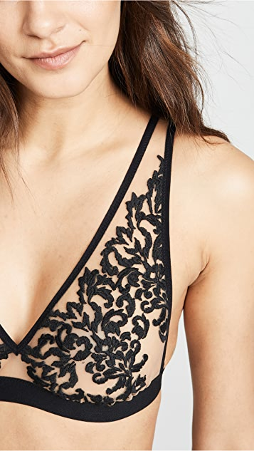 Thistle & Spire Cypress Embroidered Bralette