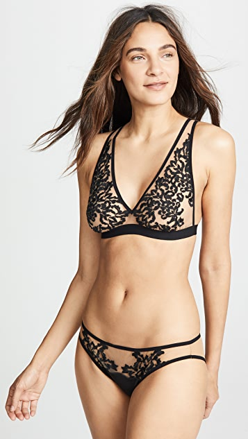Thistle & Spire Cypress Embroidered Bikini Briefs