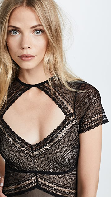 Thistle & Spire Bond Bodysuit with Eyelets