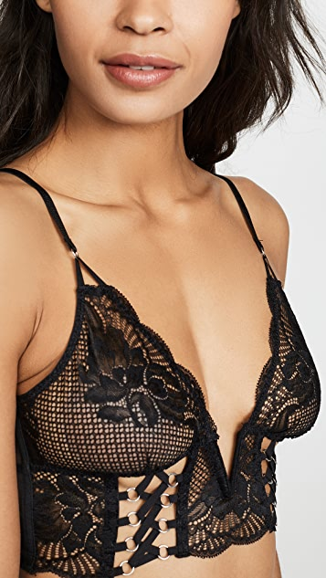 Thistle & Spire Bowery Lace Up Bralette
