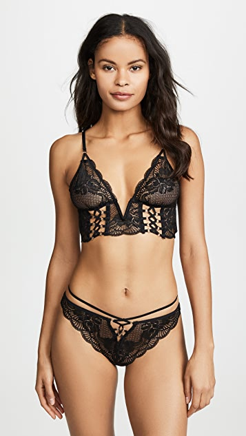 Thistle & Spire Bowery Lace Up Thong