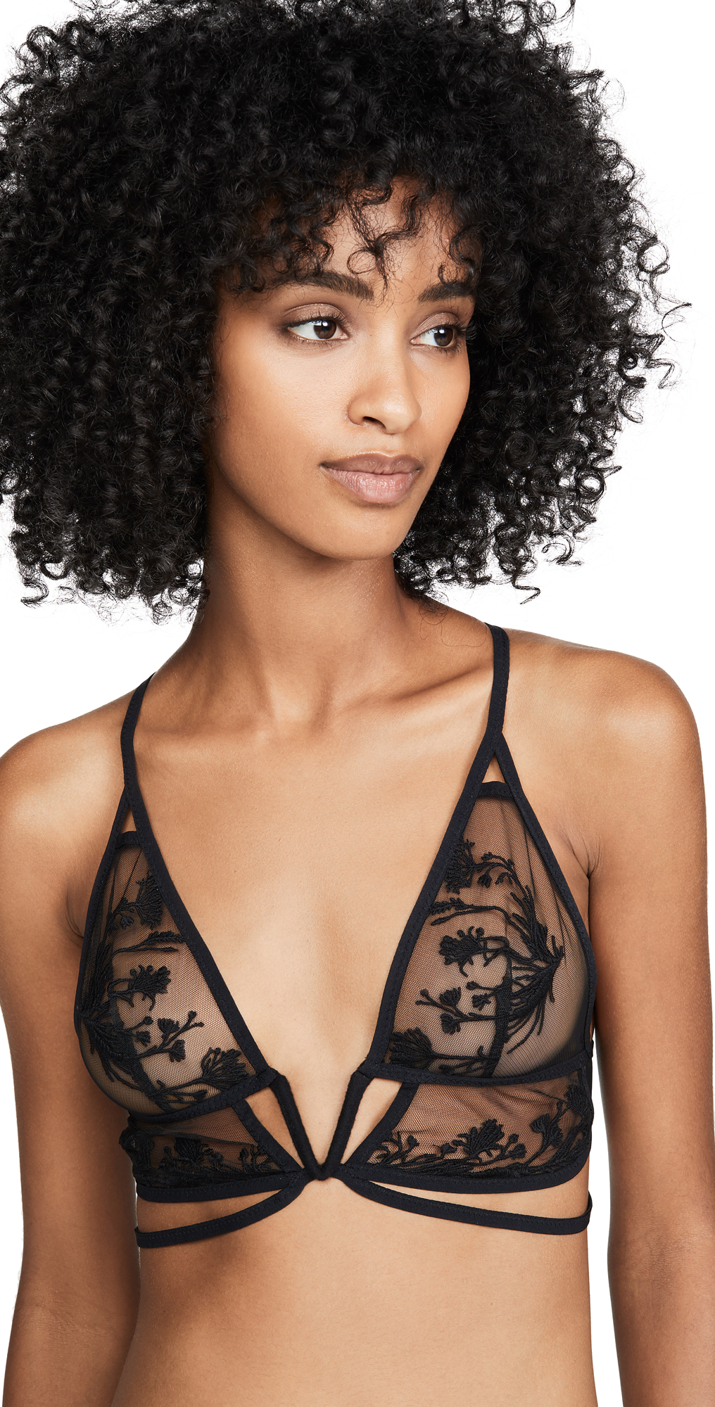 Thistle & Spire Mulberry Keyhole Bralette