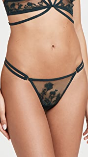 Thistle and Spire Mulberry Thong