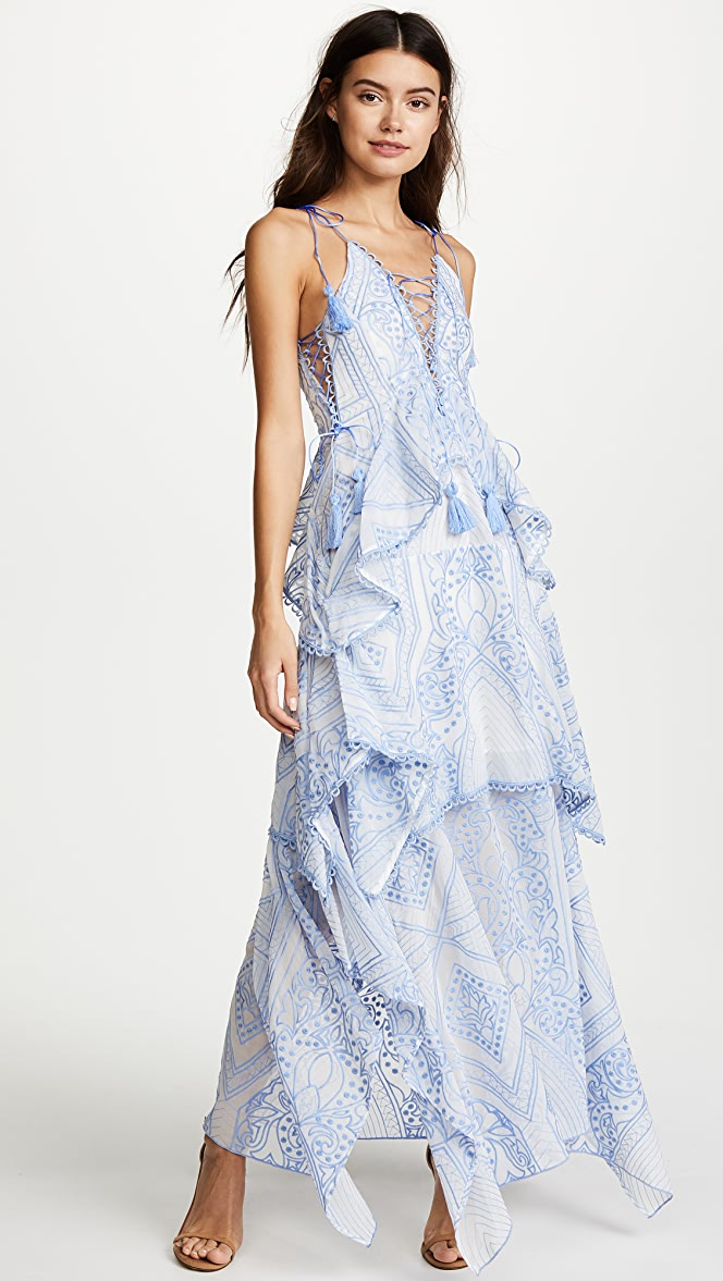f6f995d5fa THURLEY Positano Princess Maxi Dress | SHOPBOP
