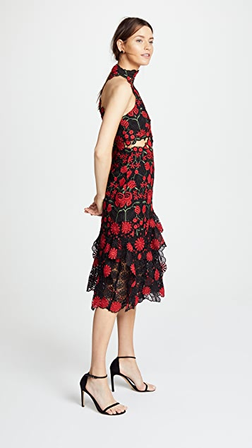 THURLEY English Rose Midi Dress