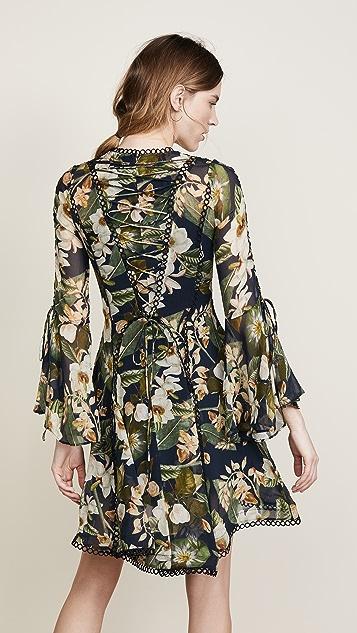 THURLEY Poppy Paradise Print Dress