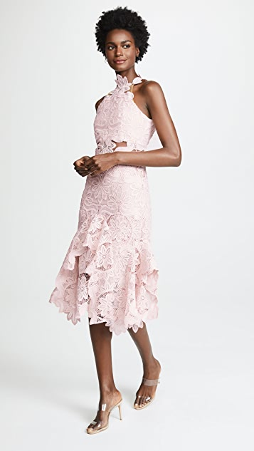 THURLEY Waterlilly Midi Dress