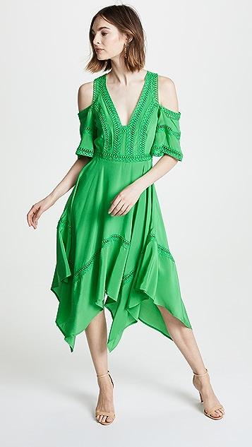 THURLEY Cold Shoulder Dress