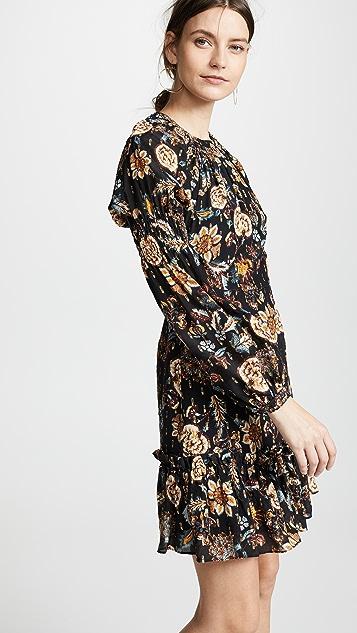 THURLEY Sonar Gold Dobby Dress