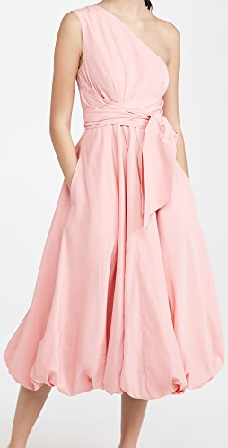 Tibi - Taffeta One Shoulder Dress
