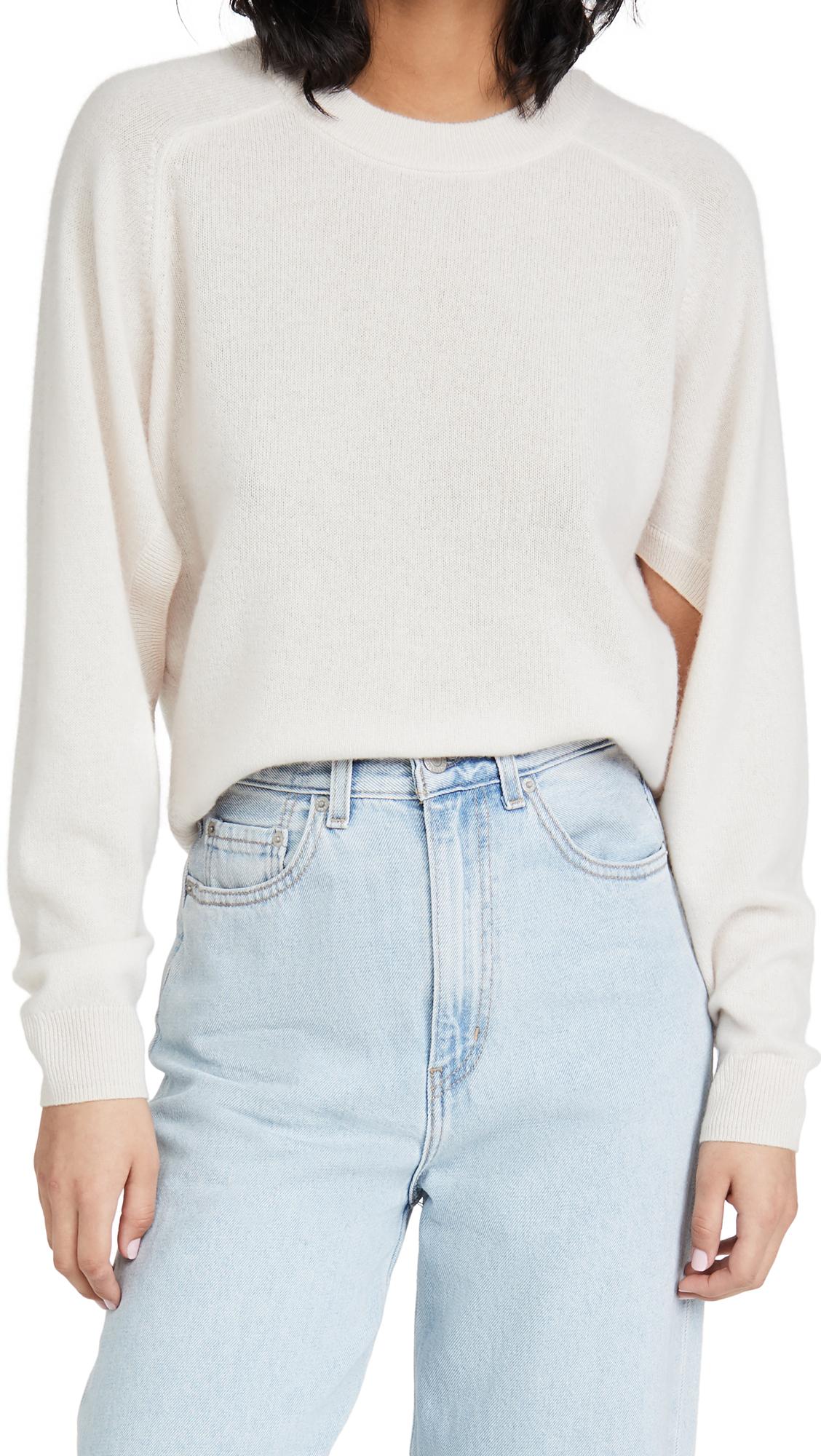 Tibi Featherweight Cashmere Sweater