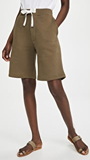 Tibi Sweatshirt Shorts