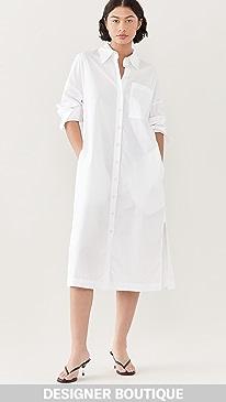 티비 Tibi The Leisuresuit Shirtdress,White