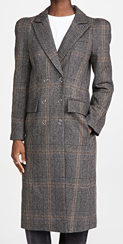 Tibi - Double Breasted Sculpted Coat
